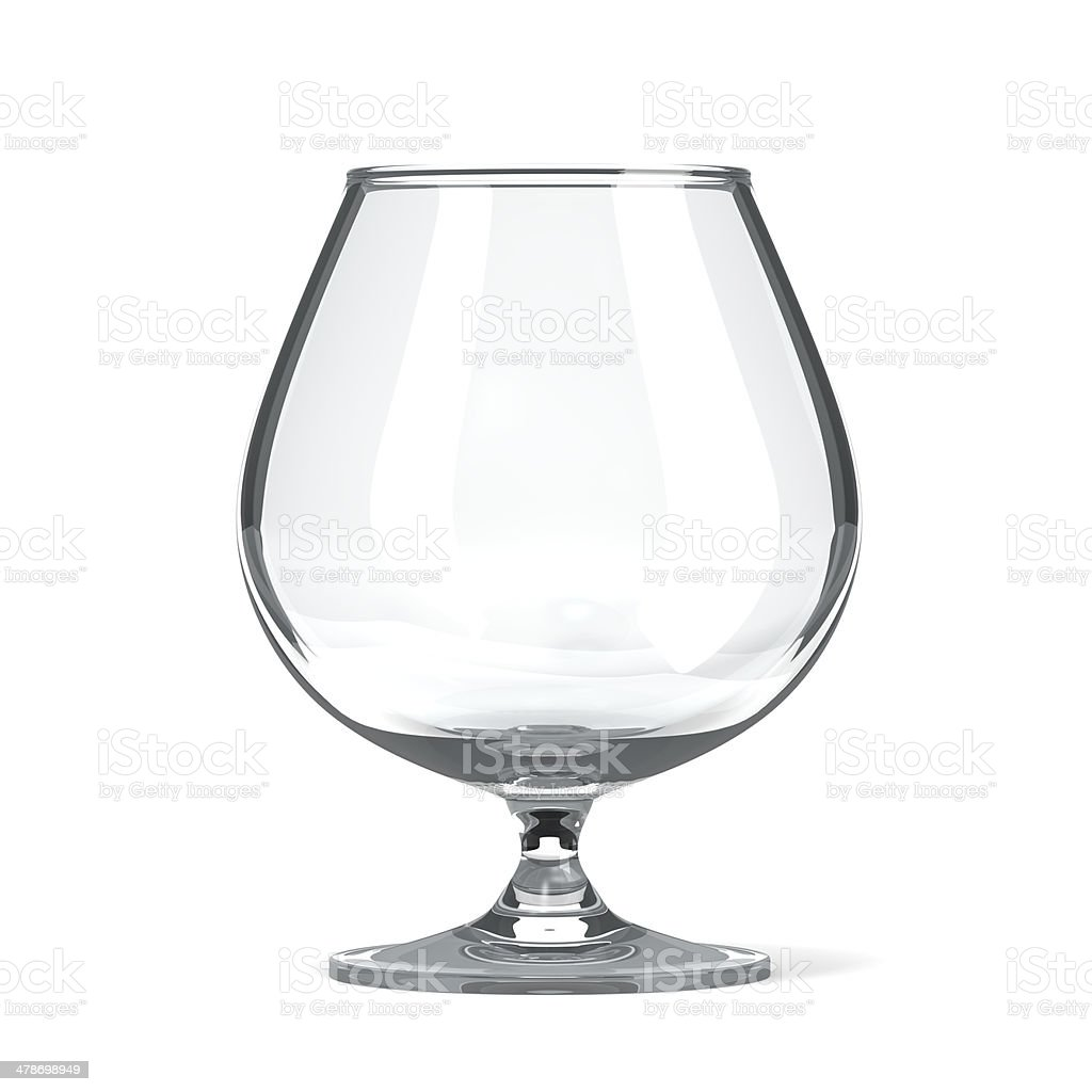 Brandy Cognac Glass stock photo