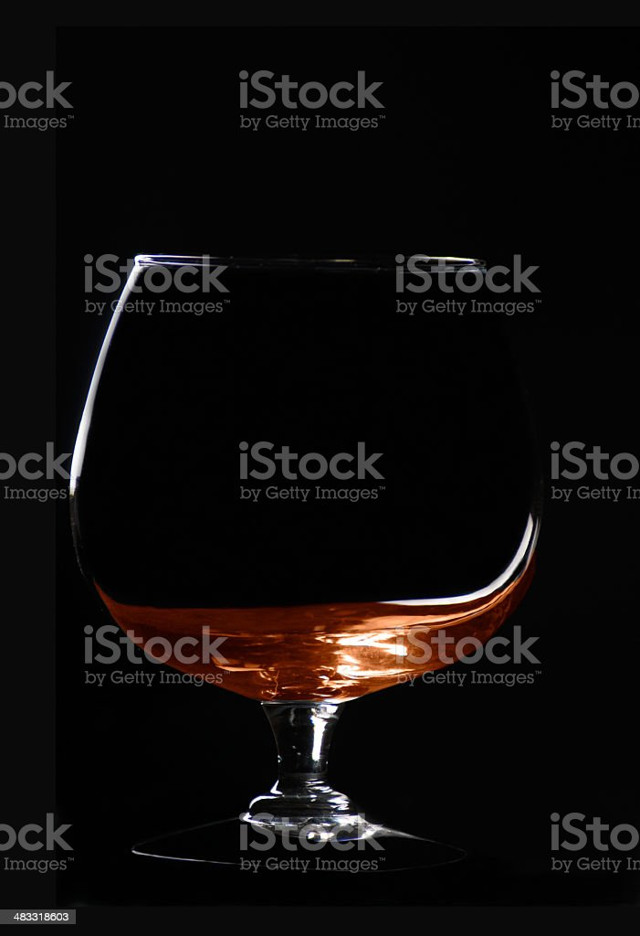 Brandy royalty-free stock photo
