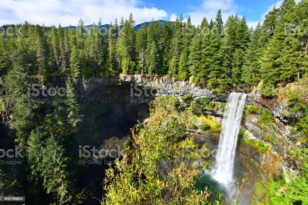 Brandywine Falls, British Columbia,Canada stock photo