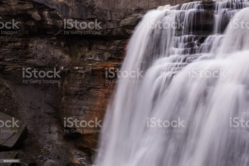 Brandywine Falls, Cuyahoga National Park stock photo