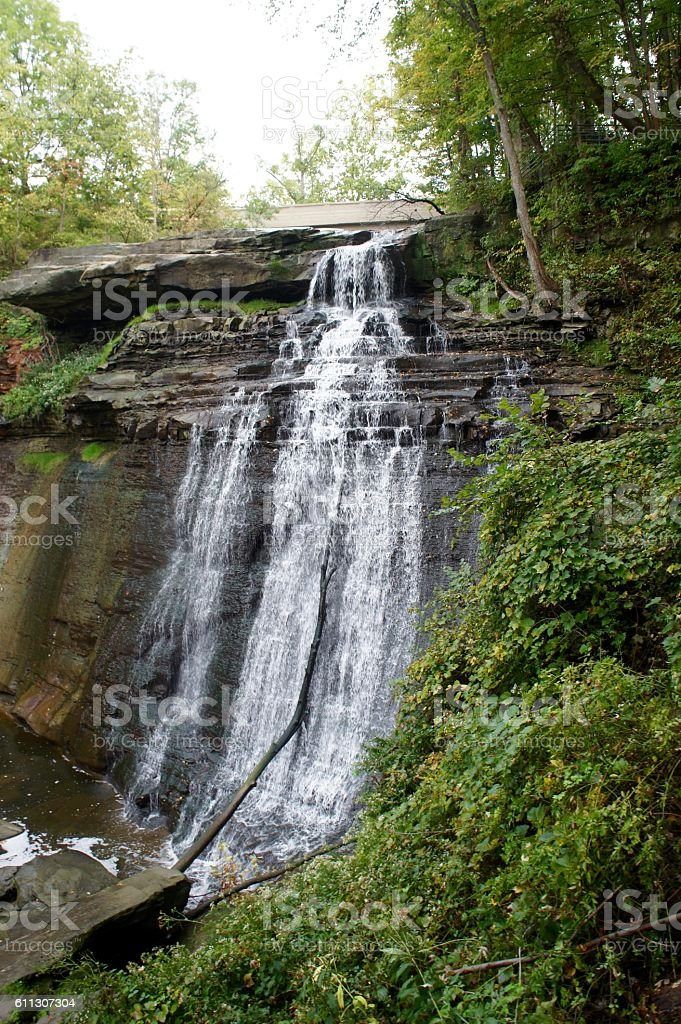 Brandywine Falls, Cuyahoga Valley National Park stock photo