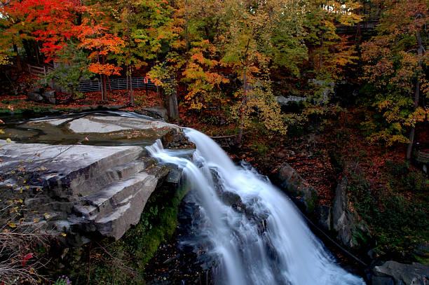 brandywine falls - nationaal park stockfoto's en -beelden