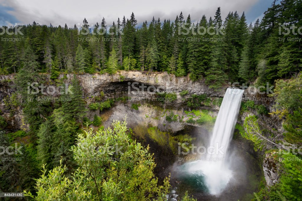 Brandywine Falls stock photo