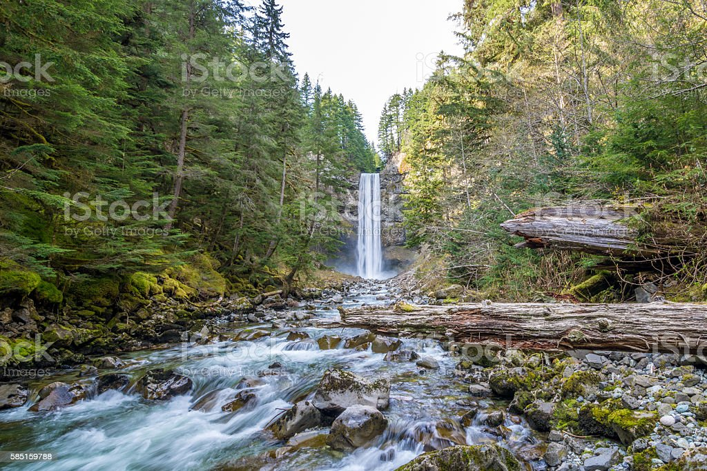 Brandywine Falls Provincial Park, British Columbia, Canada stock photo