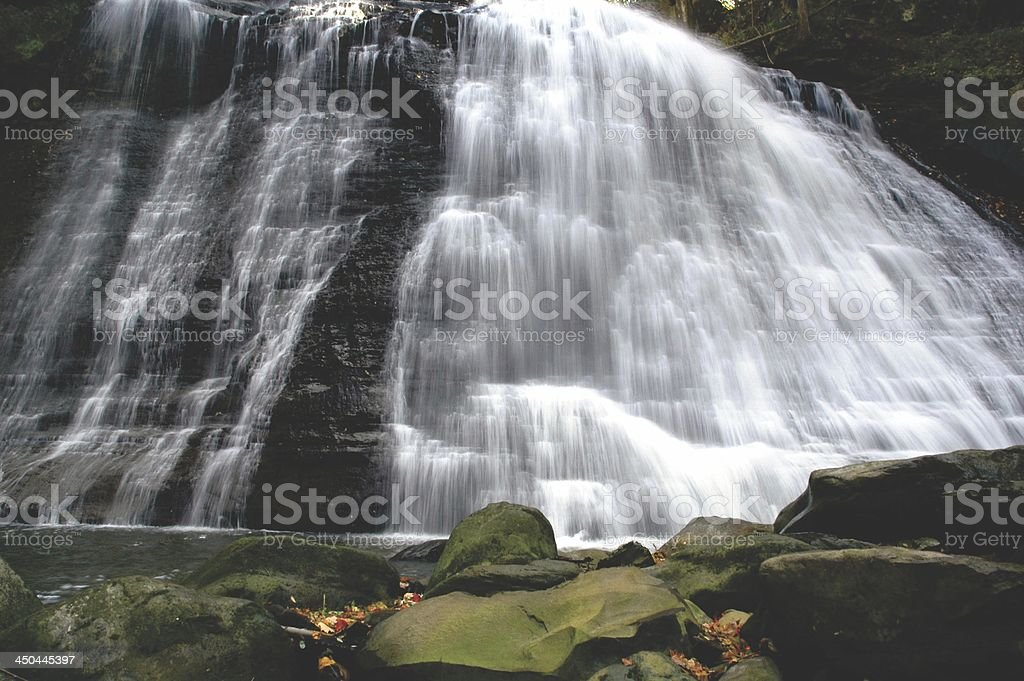 Brandywine Waterfall, Ohio stock photo
