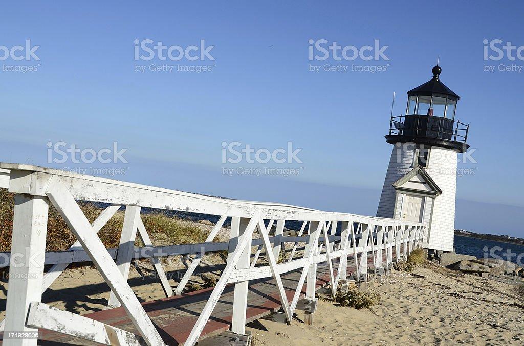 Brant Point Light, Nantucket royalty-free stock photo