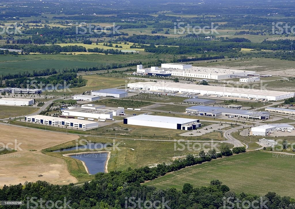 Brantford industrial stock photo