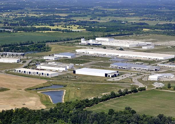 brantford industrial - industriegebied stockfoto's en -beelden