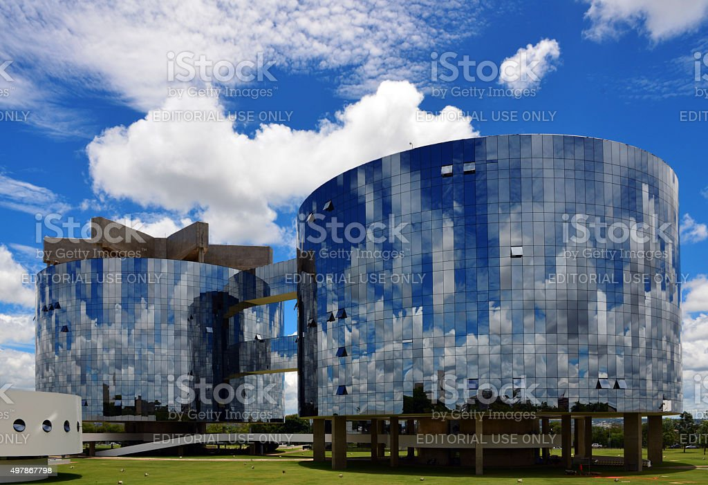 Brasilia, Brazil: Attorney General, the Procuradoria stock photo