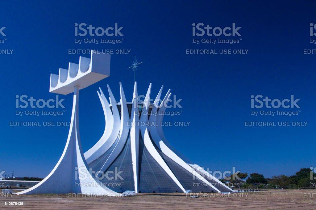 Brasilia, Brésil. Août 2017. Cathédrale de Brasilia - Photo