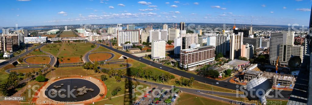 Capital de Brasil Brasilia (do Brasil de la Capital) - foto de stock
