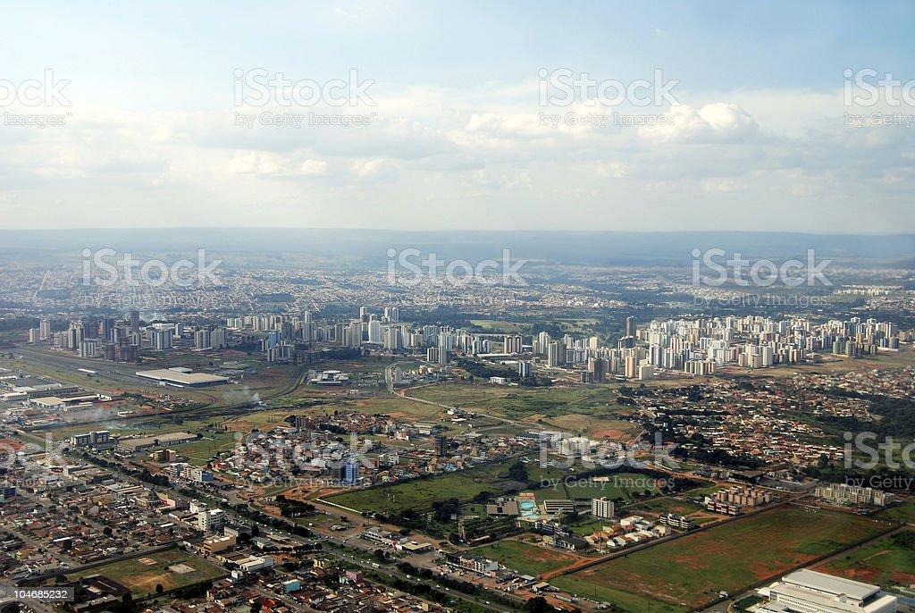 Brasilia, capital de horizonte de Brasil, - foto de stock
