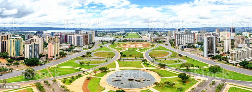 Brasilia Cityscape stock photo