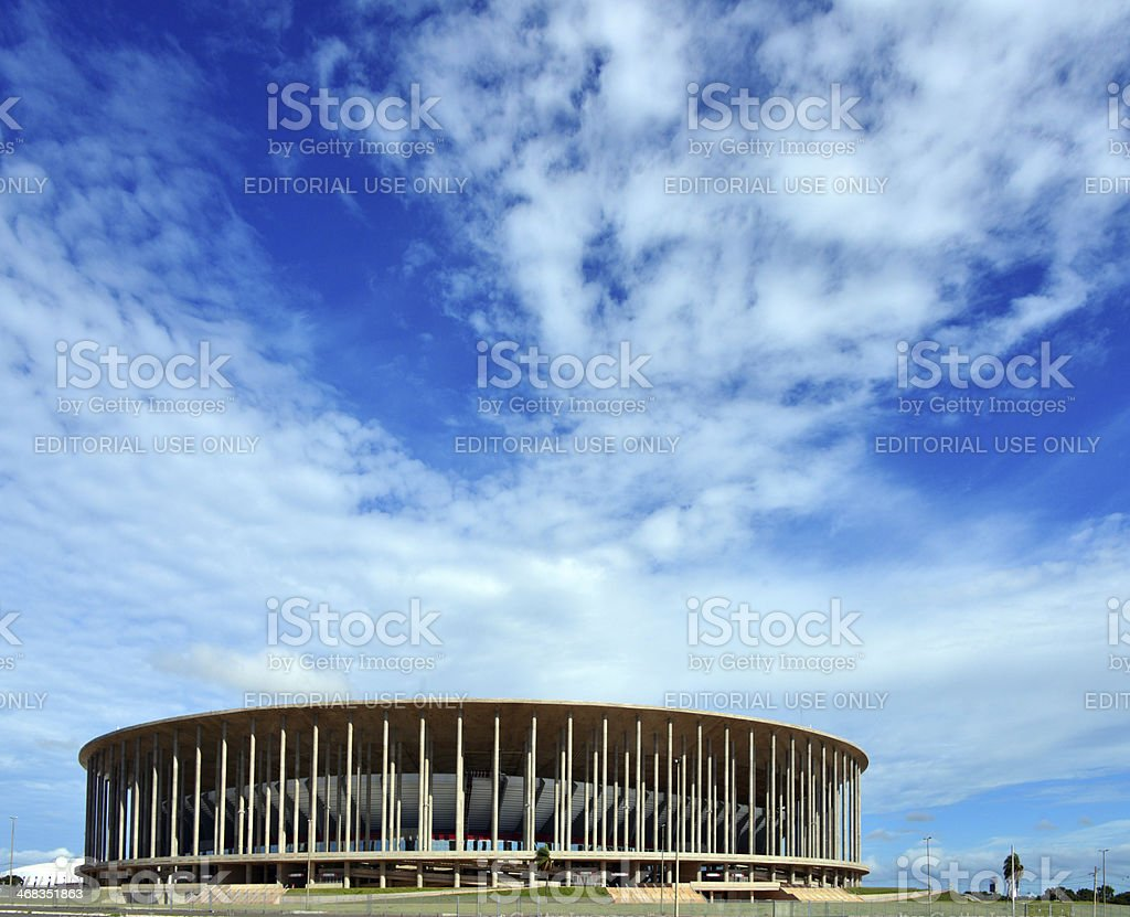 Brasilia - FIFA World Cup Stadium stock photo