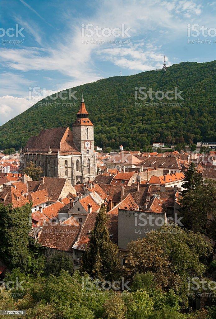 Brasov city royalty-free stock photo