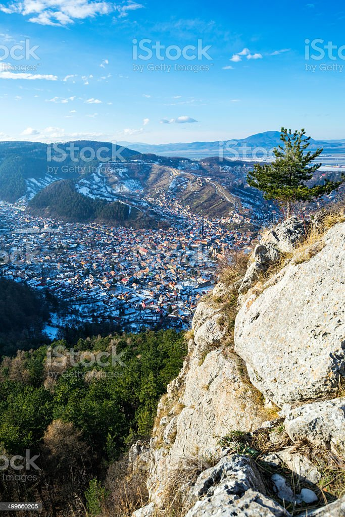 Brasov from Above stock photo