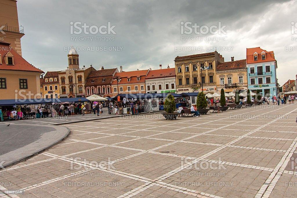 Brasov stock photo