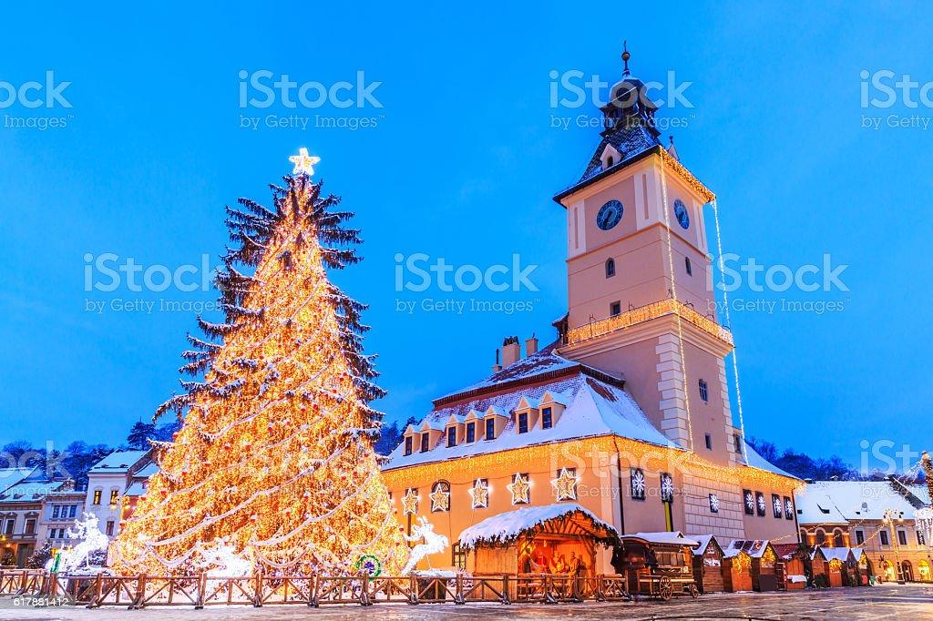 Brasov, Romania. stock photo