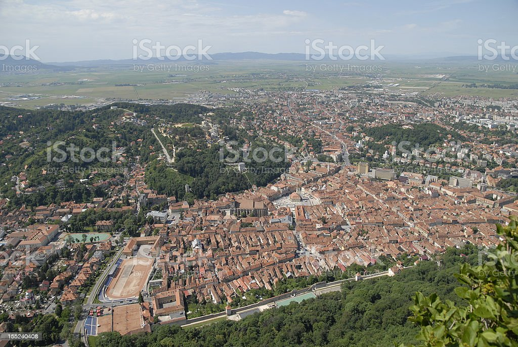 Brasov, Romania , The Old city royalty-free stock photo