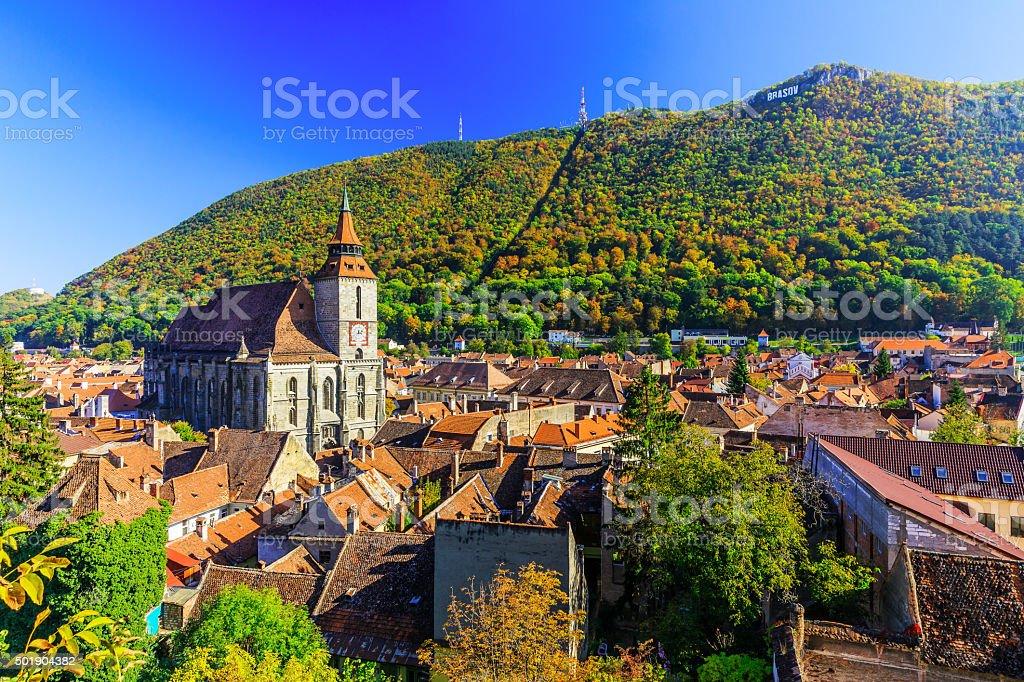 Brasov, Transylvania. Romania stock photo
