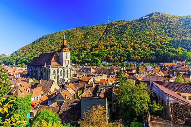brasov, transylvania. romania - romania stock pictures, royalty-free photos & images