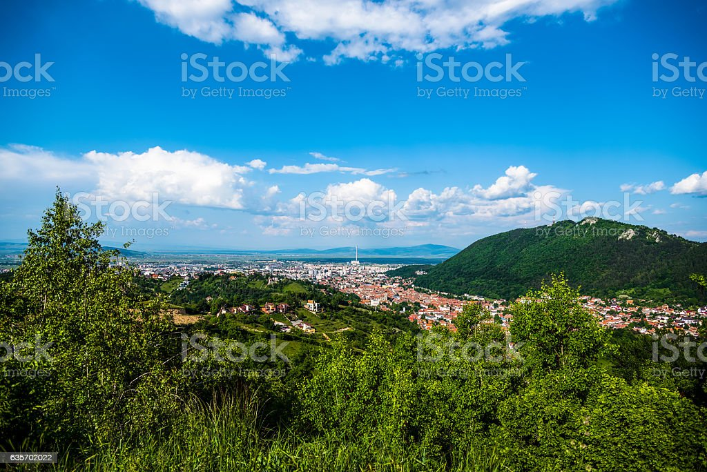Brasov View royalty-free stock photo
