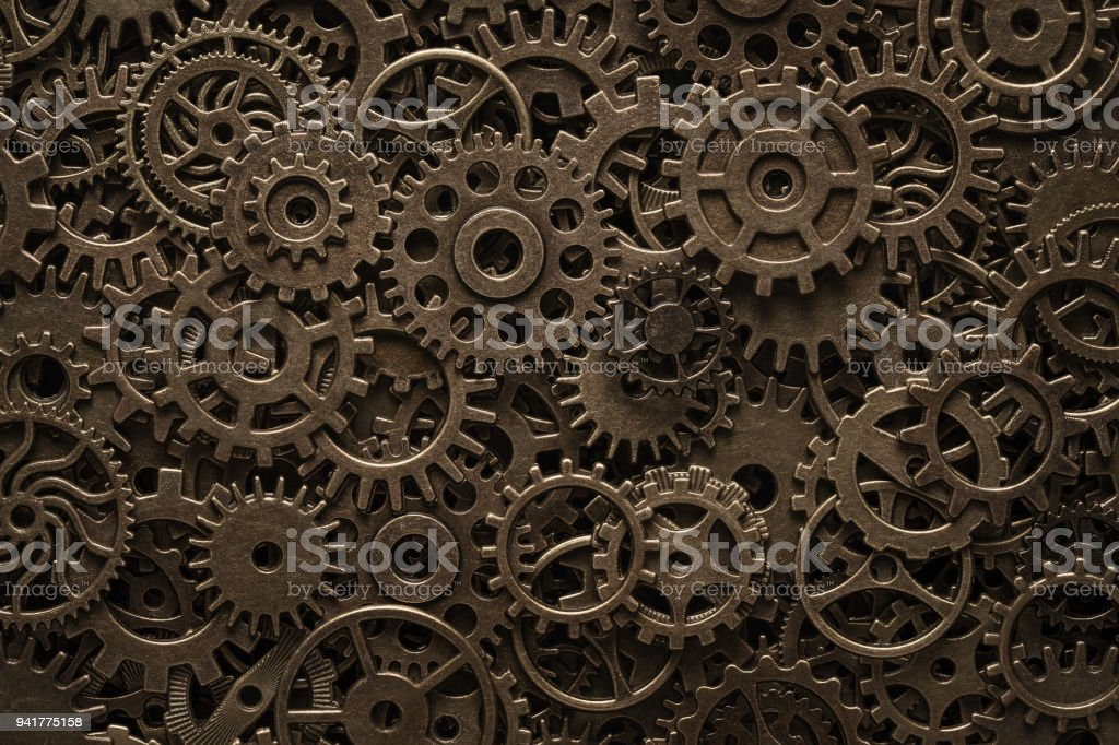 brass cogwheels steampunk background stock photo more pictures of
