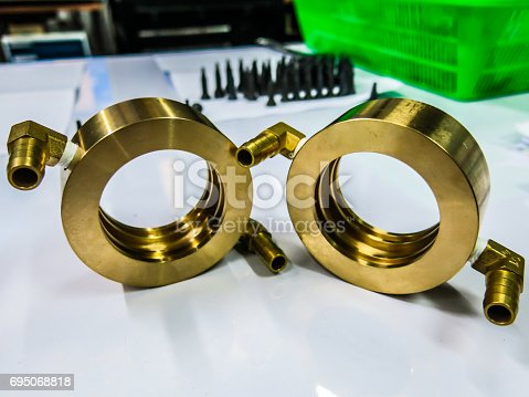 Brass coolling water product gold