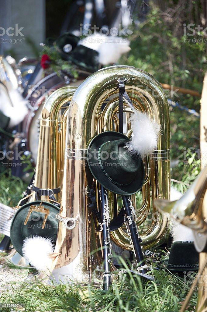Brass instruments royalty-free stock photo