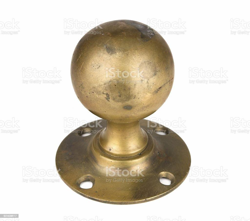 Brass Knob royalty-free stock photo