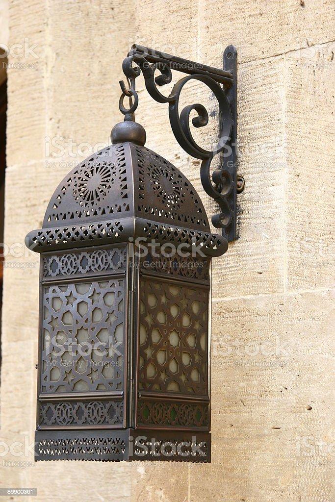 Brass Lantern royalty-free stock photo