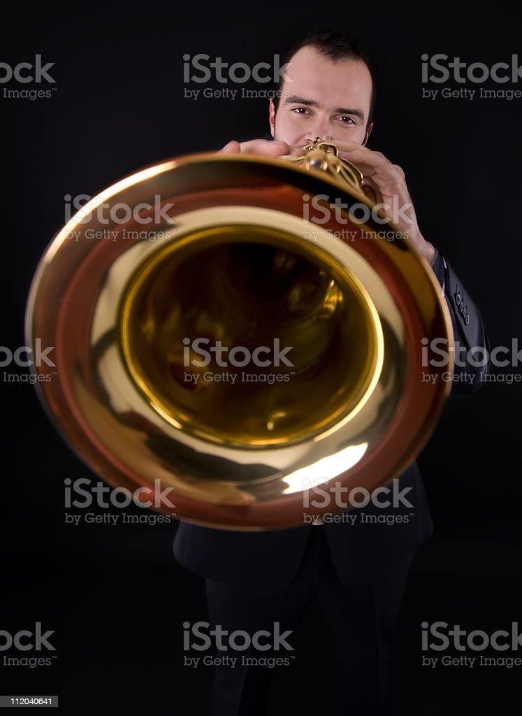 brass music royalty-free stock photo