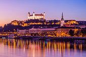 istock Bratislava at night 517664988