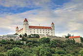 Reconstructed Baroque castle dating back to 907 A.D. & national museum located on a hilltop