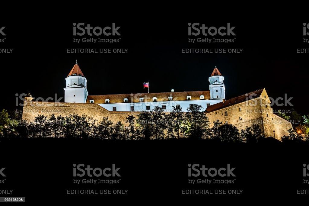 Bratislava Castle or Bratislavsky Hrad royalty-free stock photo