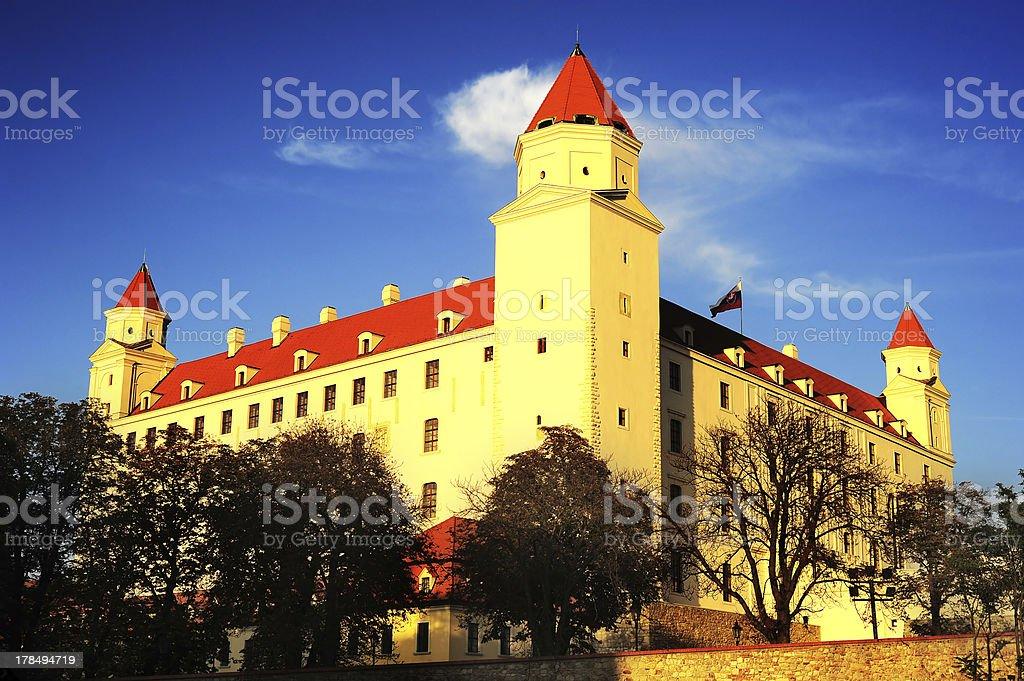 Bratislava Castle royalty-free stock photo