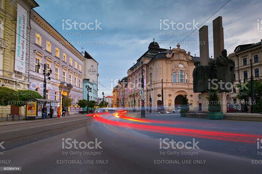 Bratislava old town. stock photo