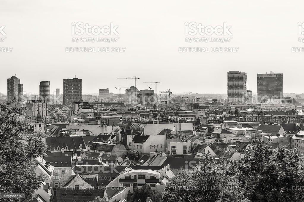 f507813e0 Bratislava Panorama Stock Photo & More Pictures of Architectural ...
