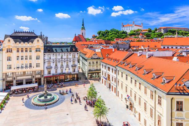 슬로바키아 있습니다. - 슬로바키아 뉴스 사진 이미지