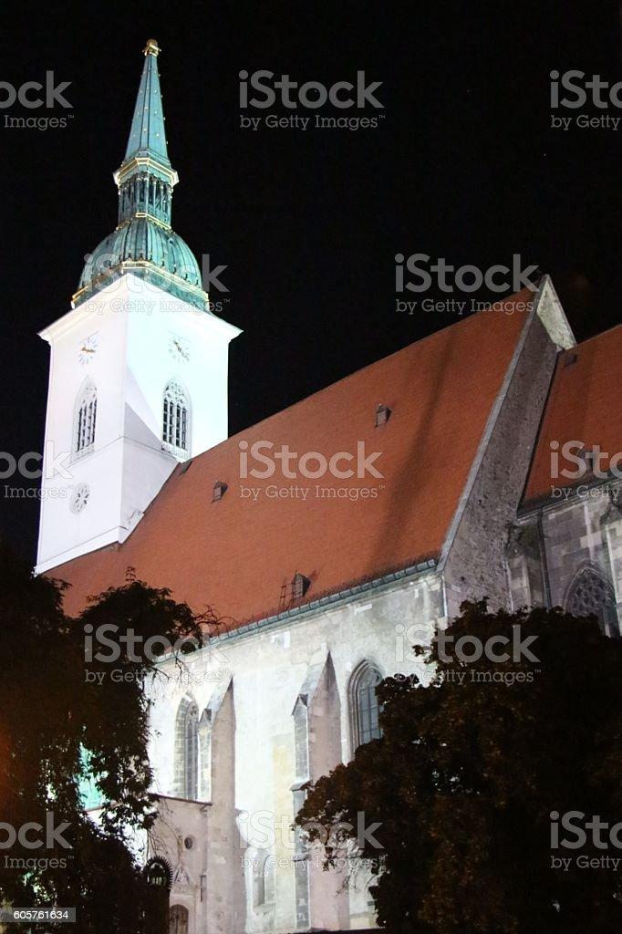 bratislava - st martins cathedral stock photo