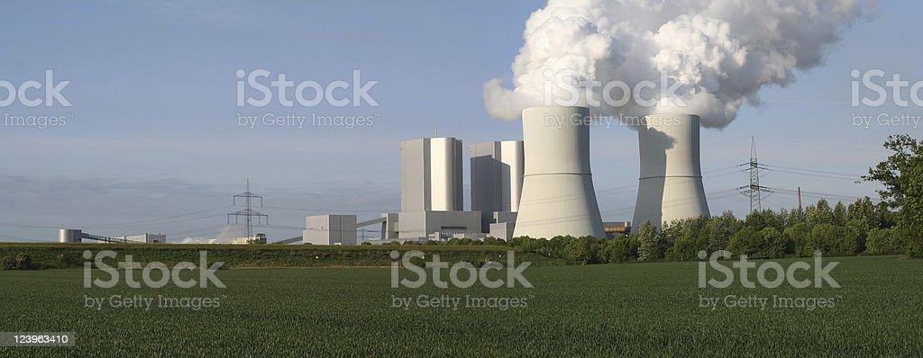 Braunkohlekraftwerk stock photo
