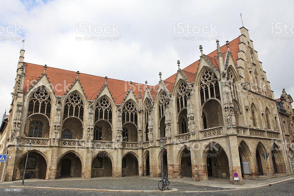 Braunschweig Old Town Hall stock photo