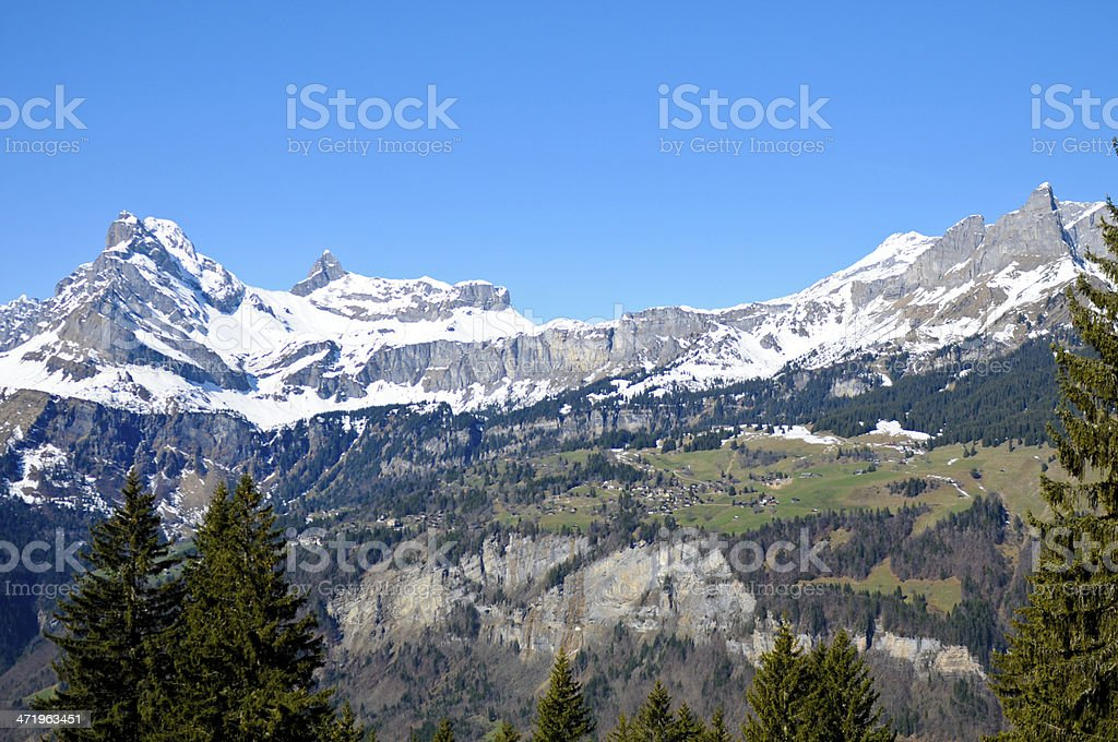 Braunwald stock photo