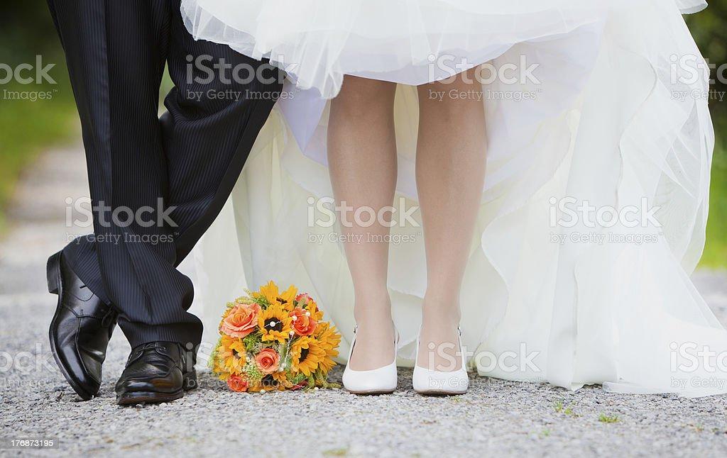 Brautpaar stock photo