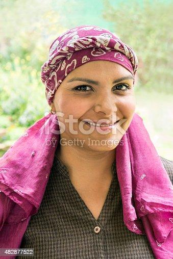 469949126 istock photo Brave Latin cancer patient 482877522