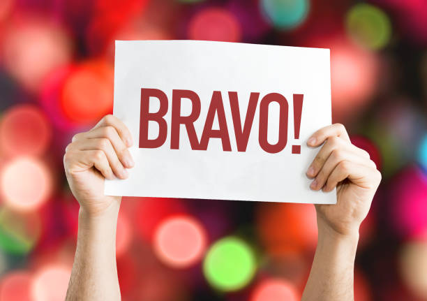 bravo - congratulations stock photos and pictures