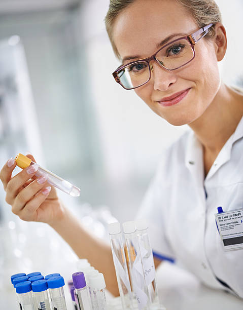 Braving new medical frontiers stock photo
