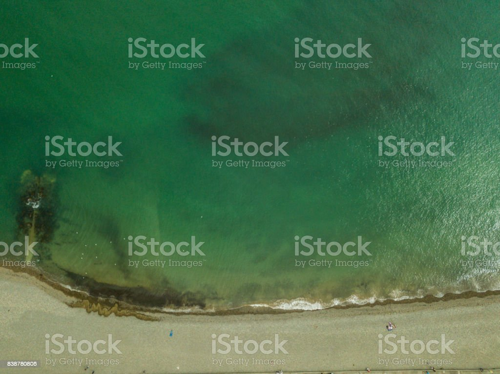 Bray seafront, Co. Wicklow, Ireland. stock photo