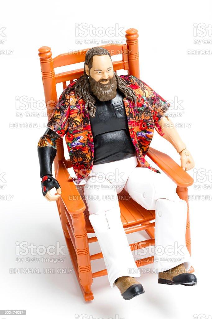Bray Wyatt Toy stock photo