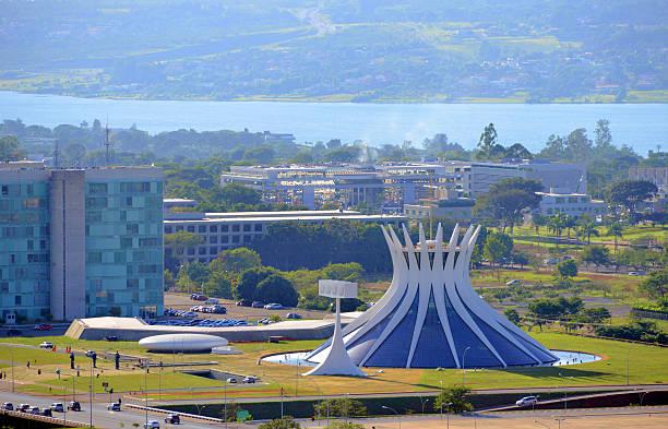 бразилия, бразилия-озеро paranoá - бразилия стоковые фото и изображения